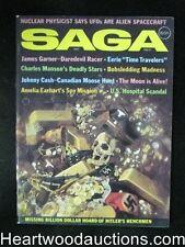 Saga Feb 1971 Charles Manson, Gayle Hunnicutt, James Garner, Johnny Cash - High