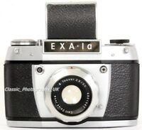 EXA 1a 35mm SLR Camera by Ihagee Dresden + Carl ZEISS Jena Tessa 2.8/50mm Lens