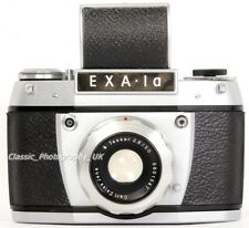 EXA 1 A 35 mm fotocamera SLR DA Ihagee Dresda + Carl Zeiss Jena Tessa LENTE 2.8/50mm