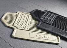 2011-2013 Infiniti QX56 ONLY All-Season Floor Mat Set OEM 999E13W002, Beige