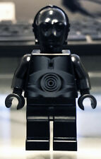 Rare Lego Star Wars Death Star 10188 Black Protocol Droid minifigure New