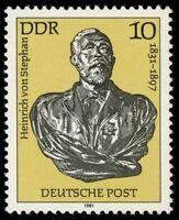 [CF6285] RDA 1981, CL Aniv. del nacimiento de Heinrich von Stephan (MNH)