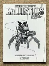 Intron Depot 3 Ballistics Masamune Shirow Seishinsha Manga Art 1st Ed Promo