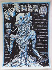 Poster Serigraphie Screenprint Brinkman ( Providence Fort Thunder ) 2005