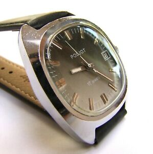 POLJOT vintage Russian watch from the 1970s   The Russian Beauty