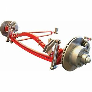 Universal 46 Deluxe Four Link Drilled Solid Axle Kit VPAIBKUA1B muscle custom