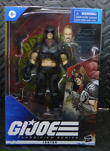 "GIJOE CLASSIFIED 6"" SERIES ZARTAN #23 ACTION FIGURE NEW! IN HAND"
