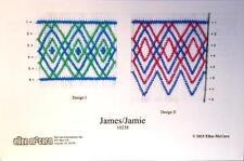 "Smocking Plate ""JAMES/JAMIE"" by Ellen McCarn - NEW DESIGN"