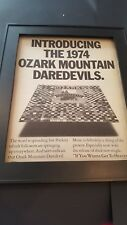 Ozark Mountain Daredevils Rare If You Wanna Get To Heaven Promo Poster Ad Framed