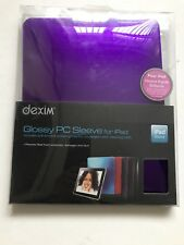 Ipad 1st Gen Dexim Purple Glossy Ipad 1 Case Comes With Screen Protector