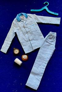 Vintage Barbie 1964 Ken Sleeper Set RARE Blue Variation
