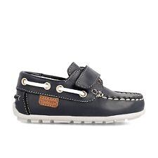 scarpe da bambino per bimbo blu sportive in pelle 24 26 27 a strappo Garvalin