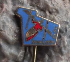 Antique Spindleruv Mlyn Canoe Kayak Slalom Competition Contest Pin Badge