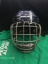 New listing Bauer Hockey Helmet Re-Act 75 With Profile Iii Cage Small Euc