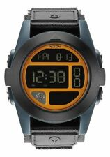 Nixon Baja Watch (Black / Blue Steel / Neon Orange)