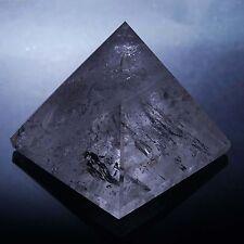 Quartz cristal clair pyramide voiture tableau bord Table décor Feng Shui cadeau