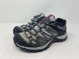 salomon contagrip Goretex Hiking Shoes Womens Size 6.5