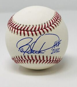 "Cincinnati Reds Barry Larkin Autographed ROMLB Baseball ""HOF 2012"" JSA Authen..."