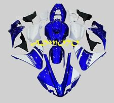 Injection Molding Fairing Kit Bodywork For Yamaha YZF-R125 2008-2013 Blue White
