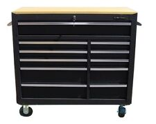 23 US Pro Tools Black Tool Chest Box Roller Cabinet finance available!