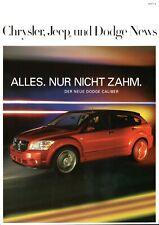 Chrysler Jeep Dodge News Heft 4 Sommer 2006 300 C PT Cruiser Caliber Wrangler