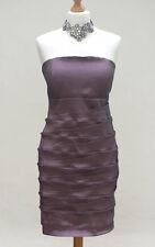 KORECOM Strapless Bodycom Layered Dress - UNUSUAL - Heather Colour - Size 10