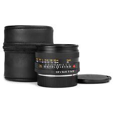 Leica 35mm f/2.8 ELMARIT-R E55 Lens V3 (Last version) Late 1990 Issue *EXC*