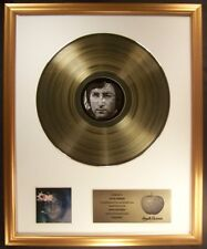 John Lennon Imagine LP Gold Non RIAA Record Award Apple Records To John Lennon