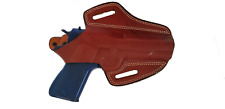 Armadillo Holsters Inc. Tan Butterfly Belt Holster w/snap for 1911 (OWB)