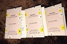 Marc Jacobs Daisy Eau So Fresh EDT Spray Sample 1.2ml x3 Travel Mini