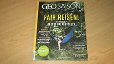 GEO SAISON SEPTEMBER 2021 - FAIR REISEN/GREEN AMSTERDAM/OSTSEE-RADTOUREN - TOP