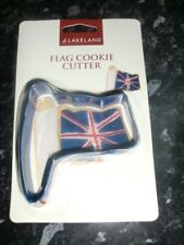 Lakeland Flag Cookie Cutter/ Cake Decoration New