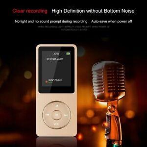 "MP3 MP4 Mini Style 128GB Portable 1.8"" LCD Music Video Media Player FM Radio UK"