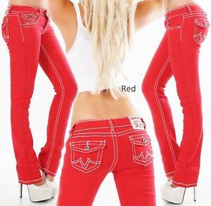 Original Denim Women's Straight Leg Stretch Denim Jeans - S/M/L/XL/XXL