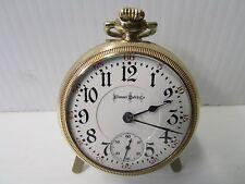 Bunn Special Illinois Watch Co. Open Face Pocket Watch w/23 Ruby Jewels ~3026892