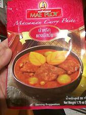Mae Ploy Flavoring Thai Spice Cook Good Taste Kaeng Massaman Red Curry Paste 50g