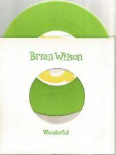 Brian Wilson (Beach Boys) - Wonderful 7 inch lime green coloured vinyl single