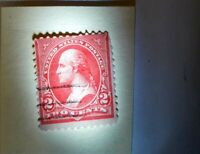 George Washington 2 cent stamp