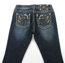 Miss Me  Women's Jeans  Boot  Distressed Stretch size 28/33