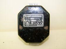 Klingeltransformator 220 Volt  3.5.8. Volt