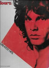The Doors Greatest Hits Piano/Vocal/Chords 1983 Music Book & Several Photos