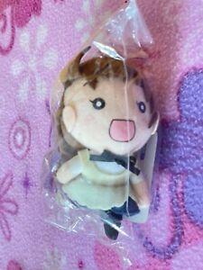 Working!! Wagnaria!! Japan Anime Mini Keychain Plush Popura Taneshima