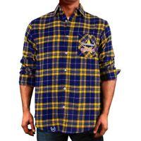 NQ Cowboys NRL 2021 Flannel Shirt Button Up T Shirt Sizes S-5XL!