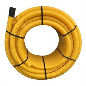 Drainagerohr 80mm PVC DN80 Drainageschlauch geschlauch geschlitzt Drainage
