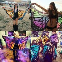 Fashion Women Girls Soft Long Butterfly Wing Cape Scarf Large Wrap Shawl Scarves