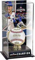 Kris Bryant Chicago Cubs 2016 MLB World Series Champions Gold Glove Case & Image