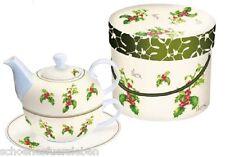 Tea 4 for one in Box Ilex Ambiente Tee Set Tee Tasse Kanne Geschenkset