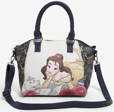 Disney Beauty and the Beast Belle Reading Mrs Potts Chip Loungefly Satchel Purse