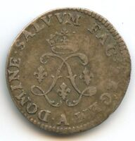 Louis XIV (1643-1715) 4 Sols aux 2 L 1691 A Paris