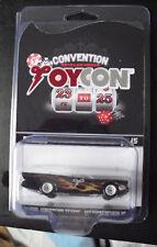 Exclusive Hot Wheels 2018 Las Vegas Toycon Custom Batmobile Car 1 of 15 MIP